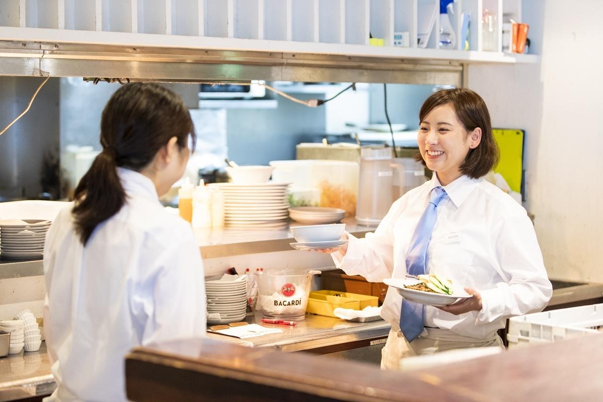 マンゴツリーカフェのカフェスタッフ正社員